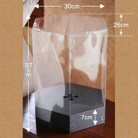 アレンジ用クリアボックス(クリアケース) 「ヘクサ(6角)ケース」