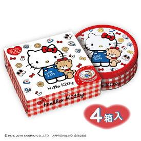 ハローキティ バタークッキー缶 4箱入