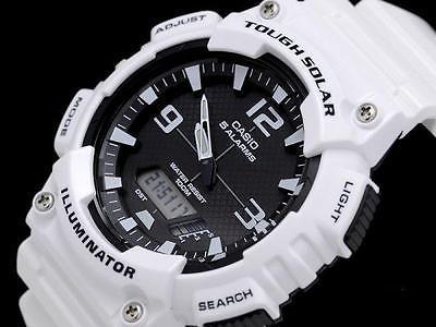 カシオ CASIO スタンダード タフソーラー メンズ レディース アナデジ 腕時計 AQ-S810WC-7A