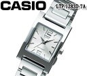 CASIO カシオ クオーツ レディース 腕時計 LTP-1283D-7A おすすめ アナログ ステンレス ホワイト ブレスレットタイプ プレゼント ビジネス ギフト