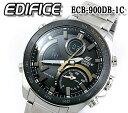 あす楽 送料無料  カシオ エディフィス CASIO EDIFICE ecb-900db-1c モバイルリンク タフソーラー メンズ 腕時計 タ…