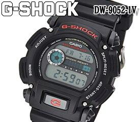 新品 あす楽 送料無料 CASIO カシオ G-SHOCK Gショック クオーツ デジタル表示 20気圧防水 メンズ腕時計 DW-9052-1V ウレタン ブラック バックライト