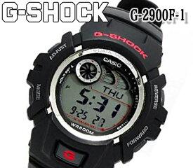新品 G-SHOCK g-2900f-1 ブラック カシオ CASIO メンズ 腕時計 レディース デジタル クォーツ Gショック ショックレジスト ラバー ストップウォッチ 人気 ブランド おすすめ アウトドア