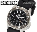 あす楽 SEIKO セイコー5 セイコーファイブ 自動巻き 腕時計 SNZE81J2 メンズ ラバー 機械式 ブラック 人気 おすすめ プレゼント