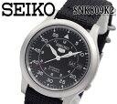 あす楽対応 SEIKO セイコー5 セイコーファイブ 自動巻き 腕時計 SNK809K2 メンズ レディース ナイロン オートマティッ…