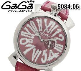 送料無料 新品 ガガミラノ 5084.06 スリム 46MM 腕時計 ユニセックス GaGa MILANO クォーツ ねじ込み式リューズ レザーベルト 人気 ブランド ウォッチ おすすめ パープル