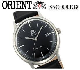 送料無料 新品 オリエント ORIENT 2nd Generation Bambino(バンビーノ) オートマチック sac0000db0 レザー ベルト ブラック 自動巻 メンズ 腕時計 カレンダー