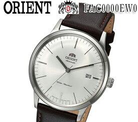 あす楽 送料無料 楽天最安値 新品 オリエント ORIENT 2nd Generation Bambino(バンビーノ) オートマチック FAC0000EW0 レザー ホワイト 自動巻 メンズ 腕時計 カレンダー