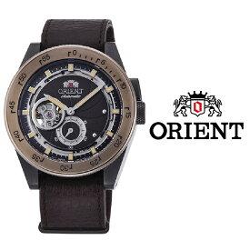 あす楽 送料無料 オリエント ORIENT REVIVAL レトロフューチャー カメラ メンズ 腕時計 RA-AR0203Y10B レザー ベルト 自動巻 手巻き オートマチック ねじ込み式リューズ アナログ ブラウン