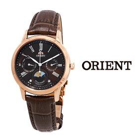 あす楽 送料無料 オリエント ORIENT オリエント レディース 腕時計 RA-KA0002Y00B クラシック クオーツ レザーベルト サン&ムーン おすすめ ファッション ドレス プレゼント