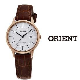 【あす楽】【送料無料】オリエント ORIENT レディース 腕時計 RF-QA0001S10B クオーツ レザー ベルト ビジネス おすすめ プレゼント シンプル カレンダー アナログ orient watch ladies woman