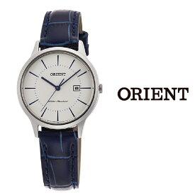 【あす楽】【送料無料】オリエント ORIENT レディース 腕時計 RF-QA0006S10B クオーツ レザー ベルト ビジネス おすすめ プレゼント シンプル カレンダー アナログ ブルー orient watch ladies woman