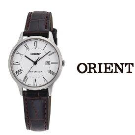 【あす楽】【送料無料】オリエント ORIENT レディース 腕時計 RF-QA0008S10B クオーツ レザー ベルト ビジネス おすすめ プレゼント カレンダー アナログ ブラック ホワイト