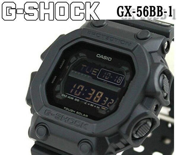 【カシオ CASIO】G-SHOCK Gショック ジーショック カシオ デジタル ソーラー メンズ 腕時計 オールブラック タフソーラー クォーツ gx-56bb-1 ブラック ダイバー 男性用 ウレタンベルト