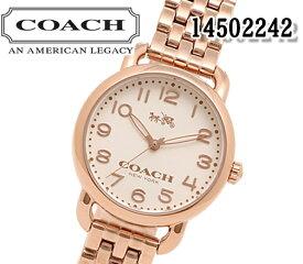 あす楽 送料無料 コーチ COACH DELANCEY デランシー 14502242 腕時計 レディース ピンクゴールド ブレスレット ビジネス スーツ ブランド プレゼント おすすめ アナログ クォーツ