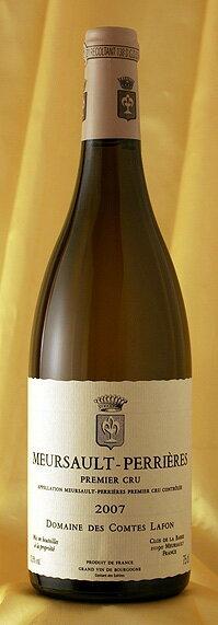 ムルソー ペリエール [2007]Meursault Perrieres 750mlコント・ラフォン Comtes Lafonフランス ブルゴーニュ ワイン 白
