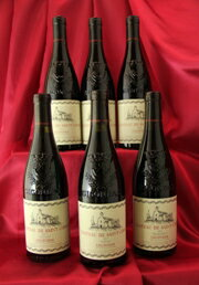 Ch.de St Cosme 2014年 6本セットCotes du Rhone フランス ローヌ ワイン セット