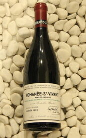 Domaine de la Romanee ContiRomanee saint Vivant [1993] 750ml DRCロマネ・サンヴィヴァン [1993] 750ml DRC