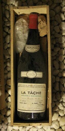ラ・ターシュ La Tache [1983] 3000ml DRCDRC (Domaine de la Romanee Conti)