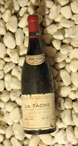 ラ・ターシュ La Tache [1992] 750ml DRCDRC (Domaine de la Romanee Conti)