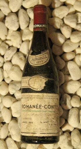 ロマネ・コンティ Romanee Conti [1983] 750ml DRCDRC (Domaine de la Romanee Conti)