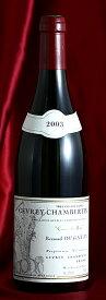 ジュヴレイ・シャンベルタン クール・ド・ロワ[2003] Gevrey Chambertin Coeur de Roy 750mlデュガ・ピィ Dugat-Pyフランス ブルゴーニュ ワイン 赤