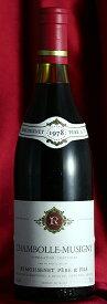 送料無料でお得 6本セット シャンボール・ミュジニー[1978]Chambolle Musigny 750mlルモワスネ Remoissenetワイン フランス ブルゴーニュ 赤