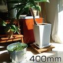 プランターベース 400mm サイズ スタンド 鉢台 鉢置き台 コロ付 キャスター付 移動 木製 鉢受け プレート 花 ガーデン…