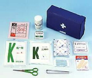 【救急箱】 救急セットB [応急処置] [ 防災グッズ 震災グッズ 地震対策 セット 防災セット 家族 ] ※オフィス、ご家庭の一角に備えて安心。アウトドア、キャンプにも。