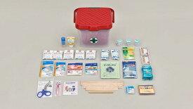 【救急箱】 白十字防災救急セット:5〜10人用・バケツタイプ [応急処置] 【防災グッズ/セット/家族/震災グッズ/地震対策】※職場、ご家庭、アウトドア、キャンプに。