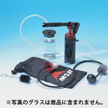 携帯浄水器MSRスウィートウォーターマイクロフィルター