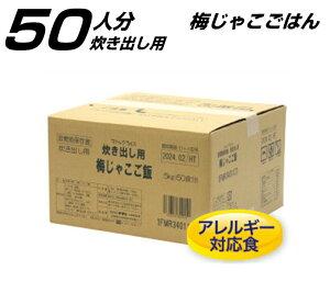 【梅じゃこごはん】保存食 サタケ マジックライス 炊き出し用 1箱(50人分) 非常食 備蓄食 防災の日