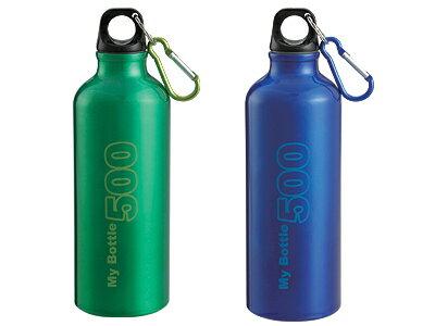 マイボトル500(防災グッズ 給水タンク ウォーターボトル アルミボトル 水筒 タンブラー ウォータータンク リットル 断水 防災セット 非常用持ち出し袋 帰宅困難 アウトドア マイボトル)