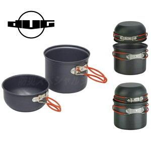 DUG ダグ ブラッククッカーシリーズ POT-L DG-0208(防災グッズ/食器/キャンプ/鍋/コッヘル/皿/ストーブ/バーナー/アウトドア/登山/トレッキング/フィッシング)