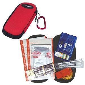 LIFELINE ファーストエイドキットS LF-0051(防災グッズ/防災セット/非常用持ち出し袋/サバイバル/ファーストエイド/救急/アウトドア/ファーストエイドキットS)