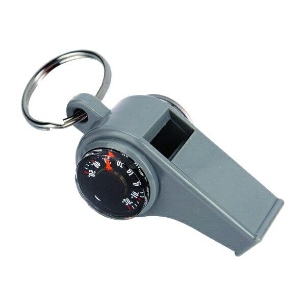 Munkees ホイッスル 3Function Whistle(防災グッズ/防災セット/コンパス/温度計/防犯/フエ/ホイッスル/警笛/災害/アウトドア/ホイッスル)