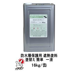 クールトップ#300Si 16kg/缶 防水層保護用 遮熱塗料 水性1液 保護塗料 簡単施工 防水保護 スズカファイン