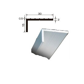 L型アルミアングル 国土交通省仕様 各種シート防水 FRP防水の端末押え金物 TA-32 厚さ 2.0 規格 15×30×2,000/本 タイセイ