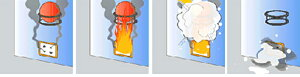 消火器消火ボール初期消火救命ボールELIDEFIREBALL【ミニサイズ】自動消火火災防止家庭住宅用防災消火車載自動車予防消火