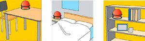 消火器消火ボール初期消火救命ボールELIDEFIREBALL自動消火火災防止家庭住宅用防災消火車載自動車予防消火