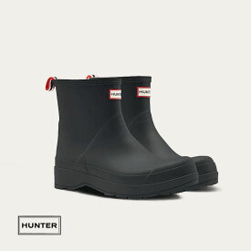 HUNTER ハンター メンズ オリジナル ショートプレイブーツ ブラック 商品番号:MFS9088RMA