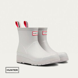 HUNTERハンター レディース オリジナル プレイ ショートブーツ [ ジンク(亜鉛グレー) ] ハンタージャパン正規輸入品