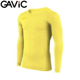 【5%OFFクーポン発行中】GAViC/ガビック GA8351 ストレッチインナートップ(丸首) YEL(YEL) サッカー フットサル 【送料無料】 【39ショップ】