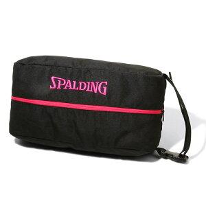 【5%OFFクーポン発行中】SPALDING/スポルディング 42-002PK バスケットボール シューズバッグ(ピンク) 【39ショップ】