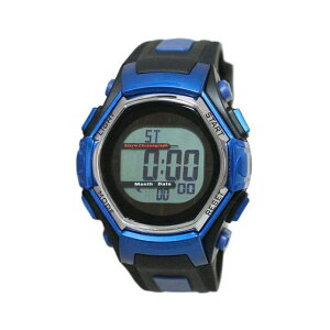 【5%OFFクーポン発行中】CREPHA/クレファー FDM7861-BL 電波ソーラー スポーツウォッチ 腕時計 ランニング ウォーキング【39ショップ】