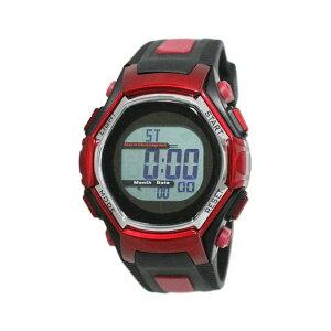 【5%OFFクーポン発行中】CREPHA/クレファー FDM7861-RD 電波ソーラー スポーツウォッチ 腕時計 ランニング ウォーキング【39ショップ】
