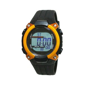 【5%OFFクーポン発行中】CREPHA/クレファー FDM7862-OR 電波ソーラー スポーツウォッチ 腕時計 ランニング ウォーキング【39ショップ】