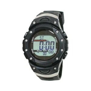 【5%OFFクーポン発行中】CREPHA/クレファー FDM7863-BK 電波ソーラー スポーツウォッチ 腕時計 ランニング ウォーキング【39ショップ】