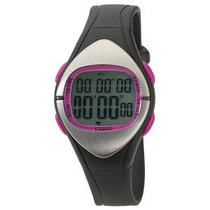 【5%OFFクーポン発行中】CREPHA/クレファー TS-D012-PK 心拍・16LAP スポーツウォッチ 腕時計 ランニング ウォーキング