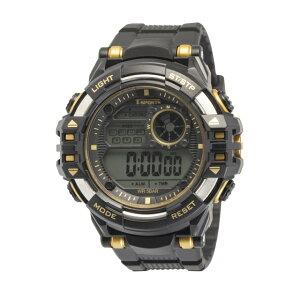 【5%OFFクーポン発行中】CREPHA/クレファー TS-D212-GD 5気圧カジュアル スポーツウォッチ 腕時計 ランニング ウォーキング【39ショップ】